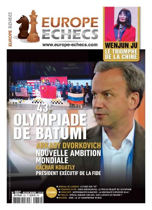 """Résultat de recherche d'images pour """"europe échecs novembre 2018"""""""